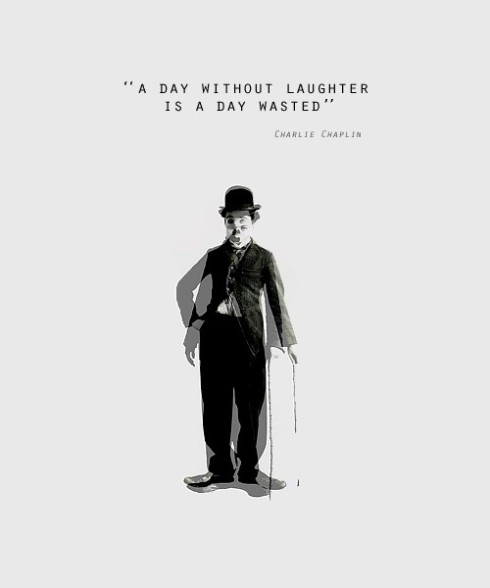 charlie chaplin on laughter